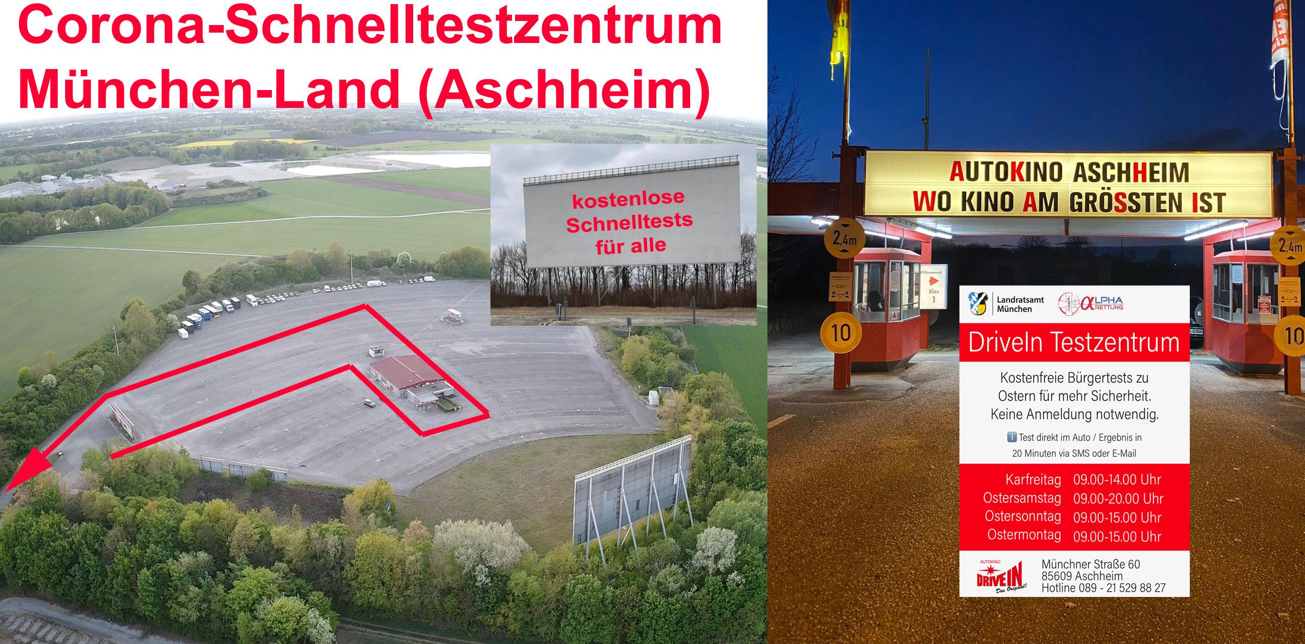 Schnelltestzentrum Aschheim